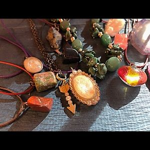 Jewelry - Hand made necklaces and charms pendant gemstone